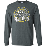Time for Quilting Long Sleeve Ultra Cotton T-Shirt - Crafter4Life - 8