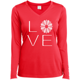 LOVE Quilting Ladies Long Sleeve V-neck Tee - Crafter4Life - 6