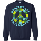 Quilters are Piecemakers Crewneck Sweatshirts - Crafter4Life - 4
