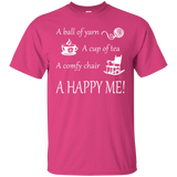 A Happy Me Custom Ultra Cotton T-Shirt - Crafter4Life - 8