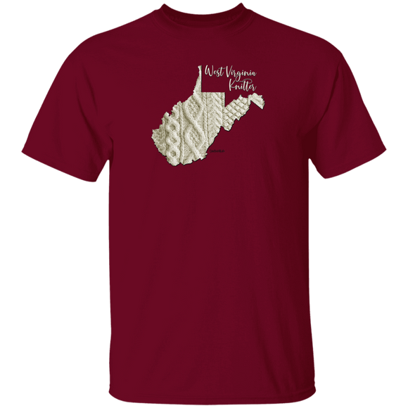 West Virginia Knitter Cotton T-Shirt