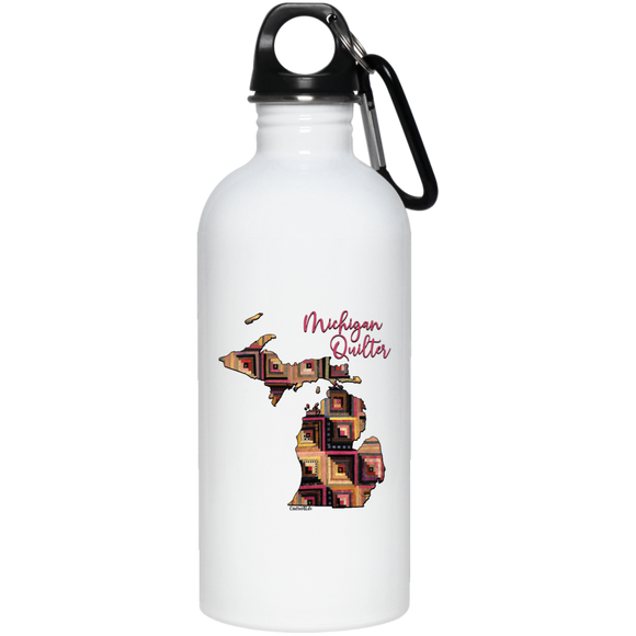 Michigan Quilter Stainless Steel Water Bottle