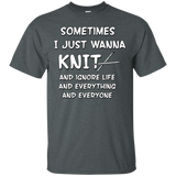 I Just Wanna Knit Ultra Cotton T-Shirt