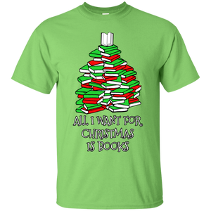 All I Want for Christmas is Books Ultra Cotton T-Shirt