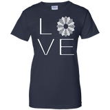 LOVE Quilting Ladies Custom 100% Cotton T-Shirt - Crafter4Life - 11