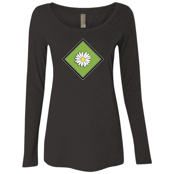 Daisy Field Ladies Triblend LS Scoop