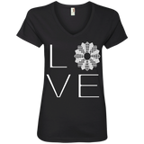 LOVE Quilting Ladies V-Neck Tee - Crafter4Life - 2