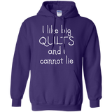 I Like Big Quilts Pullover Hoodie