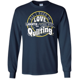 Time for Quilting Long Sleeve Ultra Cotton T-Shirt - Crafter4Life - 11
