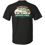 Smugglers Landing Custom Ultra Cotton T-Shirt (Pocket front + Back)