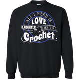 Time to Crochet Crewneck Sweatshirts - Crafter4Life - 2