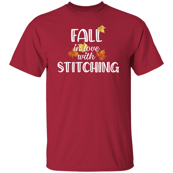 Fall in Love with Stitching T-Shirt