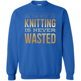 Time Spent Knitting Crewneck Sweatshirt - Crafter4Life - 6