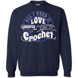 Time to Crochet Crewneck Sweatshirts - Crafter4Life - 4