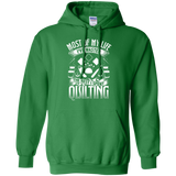 Most of My Life (Quilting) Pullover Hoodies - Crafter4Life - 7