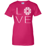 LOVE Quilting Ladies Custom 100% Cotton T-Shirt - Crafter4Life - 6