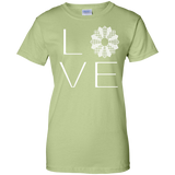 LOVE Quilting Ladies Custom 100% Cotton T-Shirt - Crafter4Life - 13
