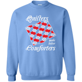Quilters Make Better Comforters Crewneck Sweatshirts - Crafter4Life - 11