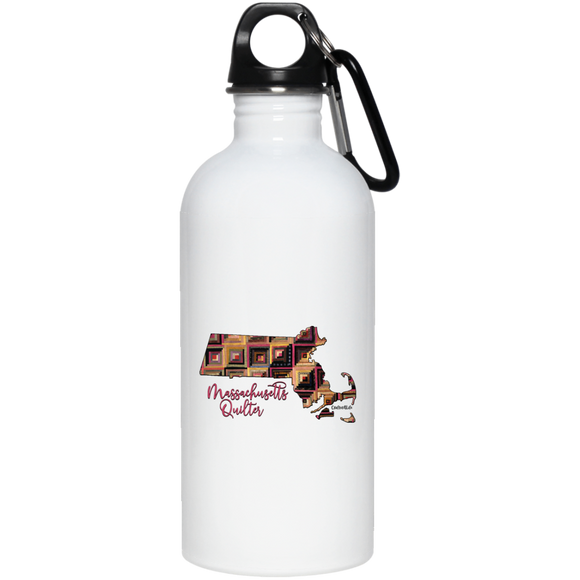 Massachussetts Quilter Stainless Steel Water Bottle