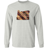 Oregon Quilter LS Ultra Cotton T-Shirt