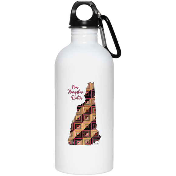 New Hampshire Quilter Stainless Steel Water Bottle