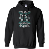 I Shop Faster than I Quilt Pullover Hoodies - Crafter4Life - 2