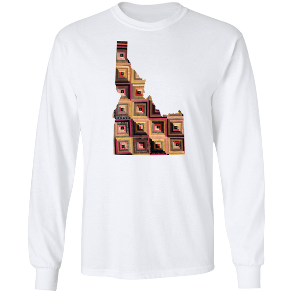 Idaho Quilter LS Ultra Cotton T-Shirt