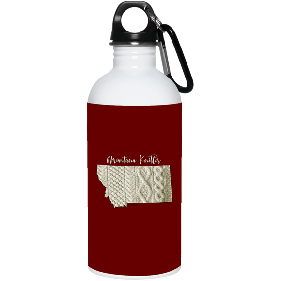 Montana Knitter Stainless Steel Water Bottle