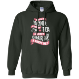 Yarn-Tea-Chair Pullover Hoodie