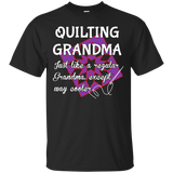 Quilting Grandma Custom Ultra Cotton T-Shirt