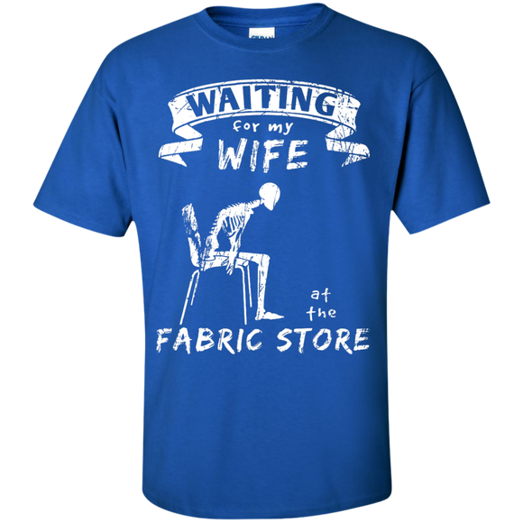 Waiting at the Fabric Store Men's and Unisex T-Shirts - Crafter4Life - 1