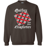 Quilters Make Better Comforters Crewneck Sweatshirts - Crafter4Life - 7