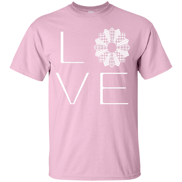 LOVE Quilting Custom Ultra Cotton T-Shirt - Crafter4Life - 1