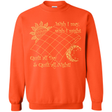Wish I May Quilt Crewneck Sweatshirts - Crafter4Life - 9