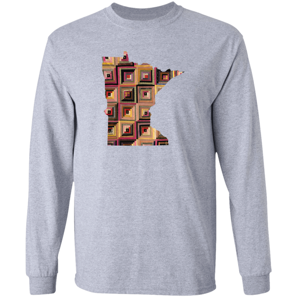 Minnesota Quilter LS Ultra Cotton T-Shirt