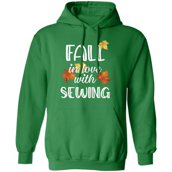 Fall in Love with Sewing Pullover Hoodie