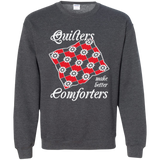 Quilters Make Better Comforters Crewneck Sweatshirts - Crafter4Life - 10