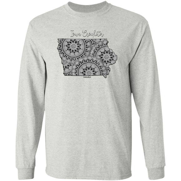 Iowa Crocheter LS Ultra Cotton T-Shirt