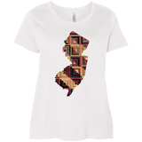 New Jersey Quilter Curvy Full-Figured T-Shirts