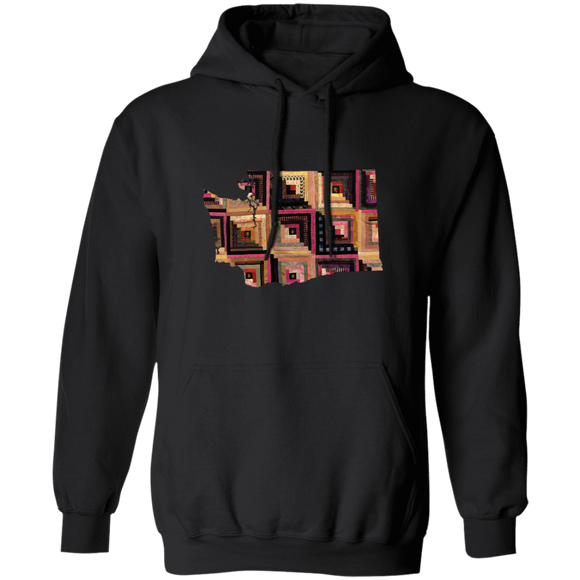 Washington Quilter Pullover Hoodie