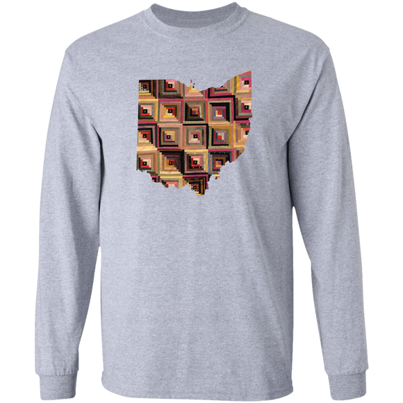 Ohio Quilter LS Ultra Cotton T-Shirt