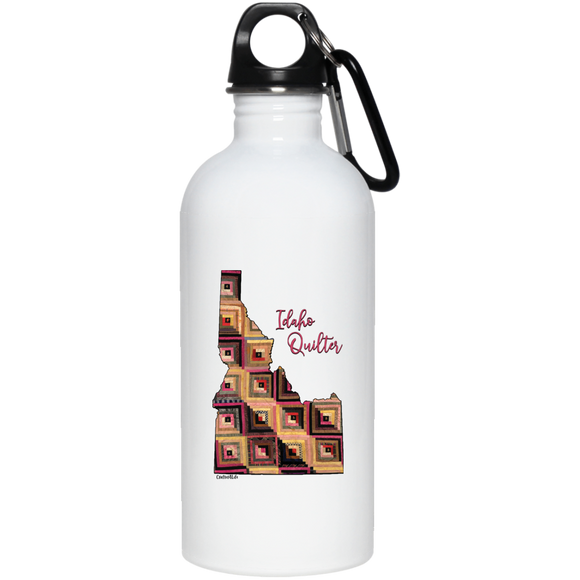 Idaho Quilter Stainless Steel Water Bottle
