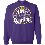 Time for Quilting Crewneck Sweatshirts - Crafter4Life - 8