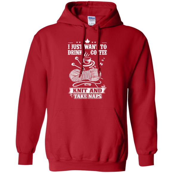 Coffee-Knit-Nap Pullover Hoodies - Crafter4Life - 1