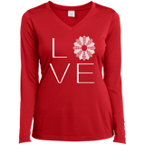 LOVE Quilting Ladies Long Sleeve V-neck Tee - Crafter4Life - 5