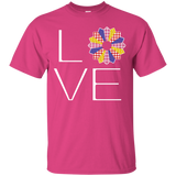 LOVE Quilting (Primary Colors) Custom Ultra Cotton T-Shirt - Crafter4Life - 7