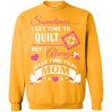 Time-Quilt-Mom Crewneck Sweatshirts - Crafter4Life - 10