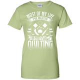 Most of My Life (Quilting) Ladies Custom 100% Cotton T-Shirt - Crafter4Life - 13