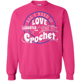 Time to Crochet Crewneck Sweatshirts - Crafter4Life - 12