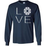 LOVE Quilting LS Ultra Cotton T-shirt - Crafter4Life - 11